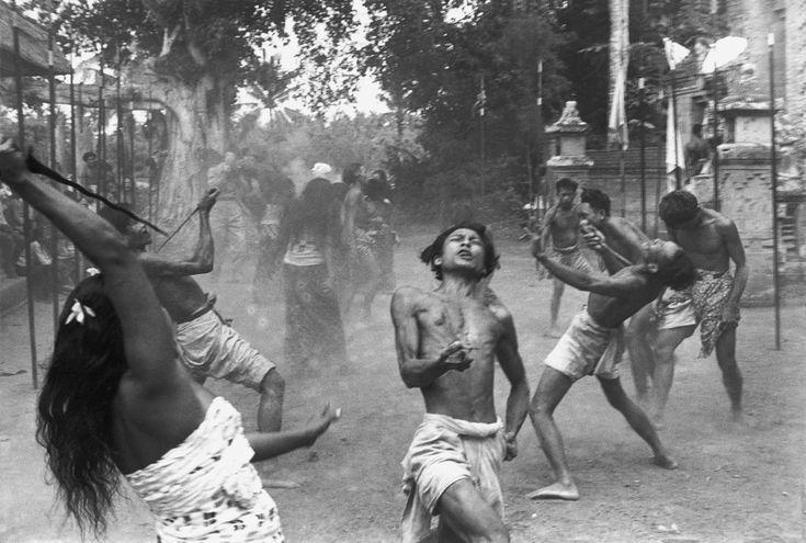 Henri Cartier-Bresson // Indonesia, 1949 -- Bali.