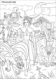 32 Best Fantasy Coloring Book Pages For Adults Images On