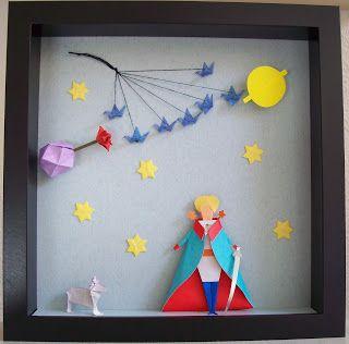 Empapelarte: El Principito en origami
