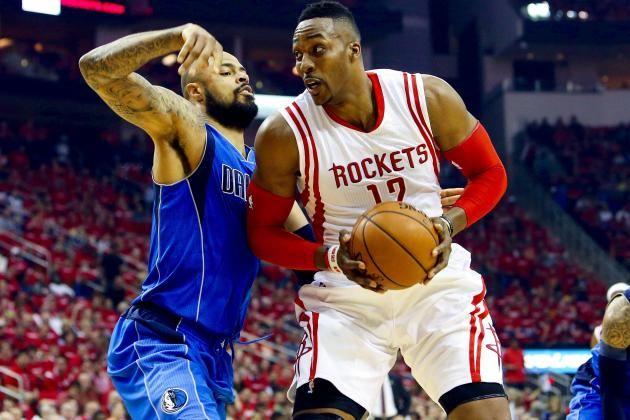 2015 NBA playoff scores: Rockets show Mavericks' flaws in Game 1 win and 3 ... NBA Playoffs  #NBAPlayoffs