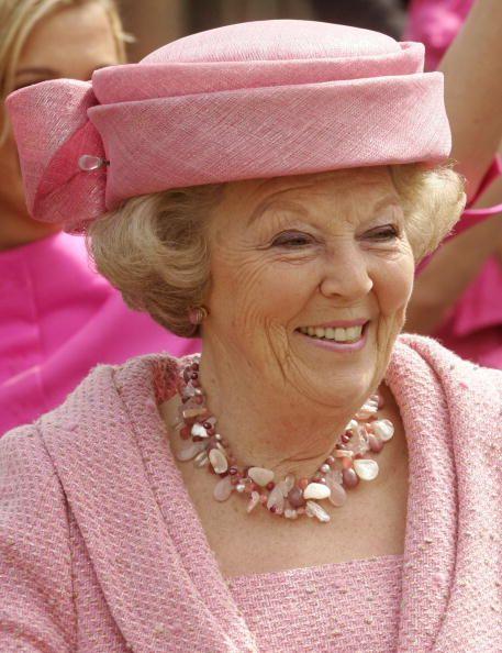 Queen Beatrix, April 30, 2008