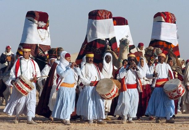 Les traditions de la TUNISIE mariage du sud tunisien