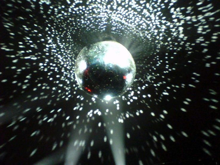 Silver And Reflection Of Disco Ball Movement
