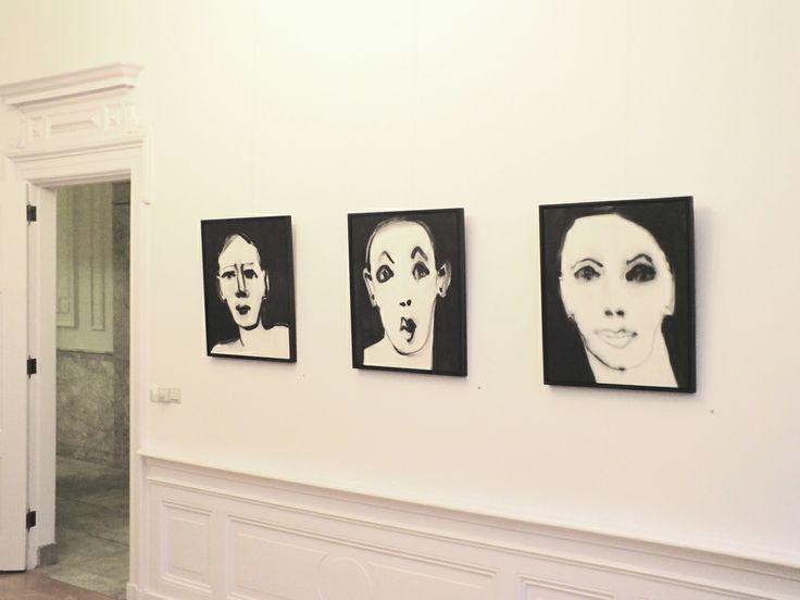 """Marjanne Beeuwkes, expositie """"en face"""" in Galerie Bel-Etage, Amsterdam"""