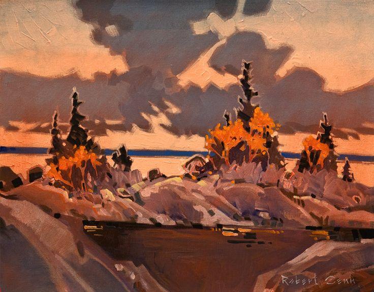 Late Light, Lake of the Woods II, by Robert Genn