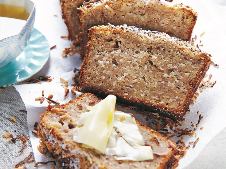 "Michele Cranston picked this recipe up from a café she used to work at, and it now appears in her new book ""A Simple Table"". She writes ""Back then it was served toasted with sliced banana, but because I often find myself with a couple of overripe bananas in need of a good baking, I've popped them into the bread instead."""
