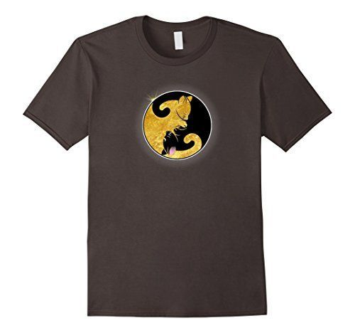 Total Eclipse Cat Yin-Yang For Cat Lover 2017 T-shirt...