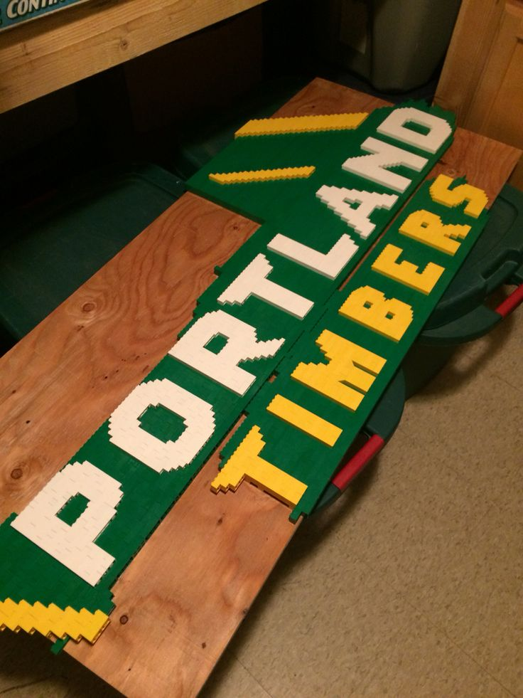 Portland Timbers Lego Logo