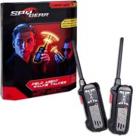 Spy Gear Walkie Talkie 2 pc Set - Educational Toys Planet. Great gift for 6 years old child. Talk to your friend agent securely using this one-channel walkie talkie set by Spy Gear. Develops Skills - pretend play, technology, imagination. #toys #learning #educational #gifts #child https://www.educationaltoysplanet.com/spy-gear-walkie-talkie-2-pc-set.html