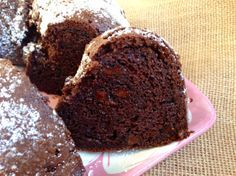 Darn Good Chocolate Cake (recipe from The Cake Mix Doctor).  Just pure chocolatey goodness!