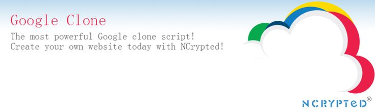 Want to #launch own #SearchEngine like #Google - #GoogleCloneScript by NCrypted Websites is the best place to come.