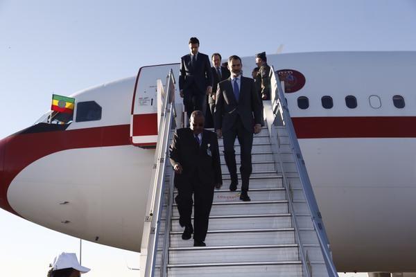 Foro Hispanico de Opiniones sobre la Realeza: El Rey Felipe, en Adis Abeba con ocasión de la 24ª Cumbre de la Unión Africana. 30/1/2015