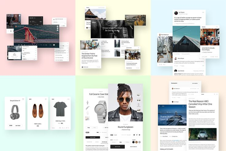 """Check out this @Behance project: """"Ease UI Components"""" https://www.behance.net/gallery/41686265/Ease-UI-Components"""