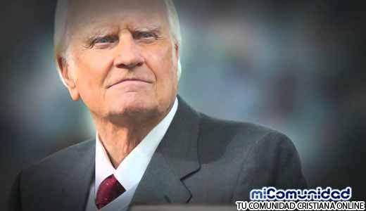 """Billy Graham """"La Biblia te puede guiar"""" más que libros de autoayuda"""