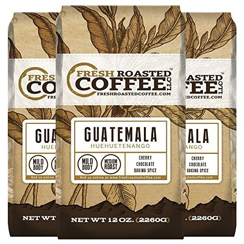 Guatemala Huehuetenango Coffee Ground Fresh Roasted Coffee LLC 12 oz 3pk Ground ** You can get more details by clicking on the image. Note: It's an affiliate link to Amazon.
