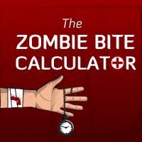 The Zombie Bite Calculator - Sam has been calculating this math manually.