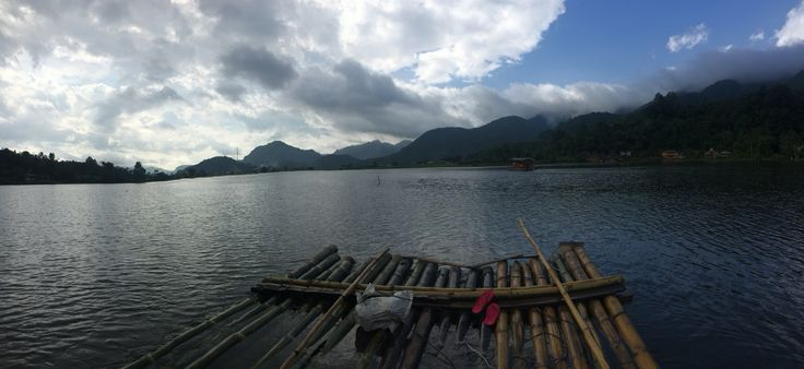 Tarusan Kamang The season lake that only fills with water in rainy season. When summer comes the water will disappear and villagers can plant rice field.