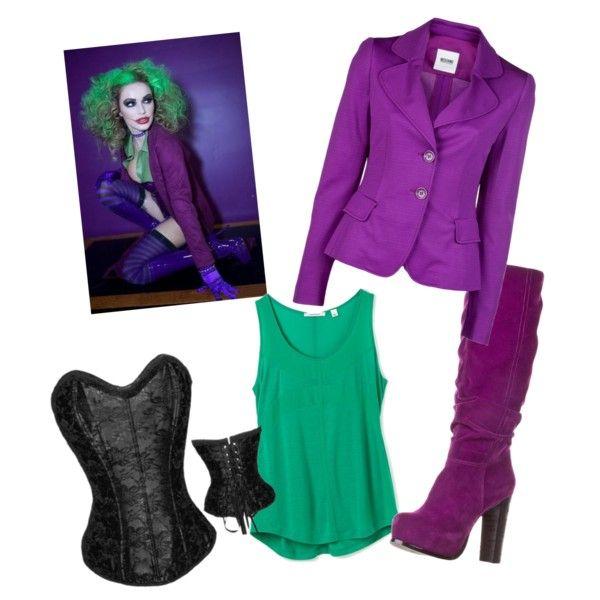 Womens sexy joker costume