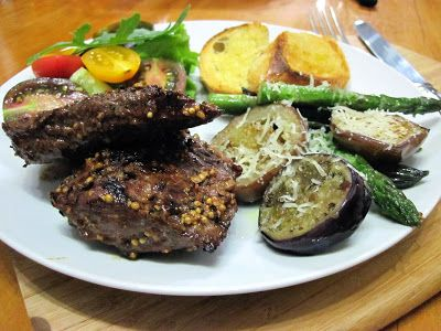 Recipe for Ostrich Steaks in the best meat rub ever