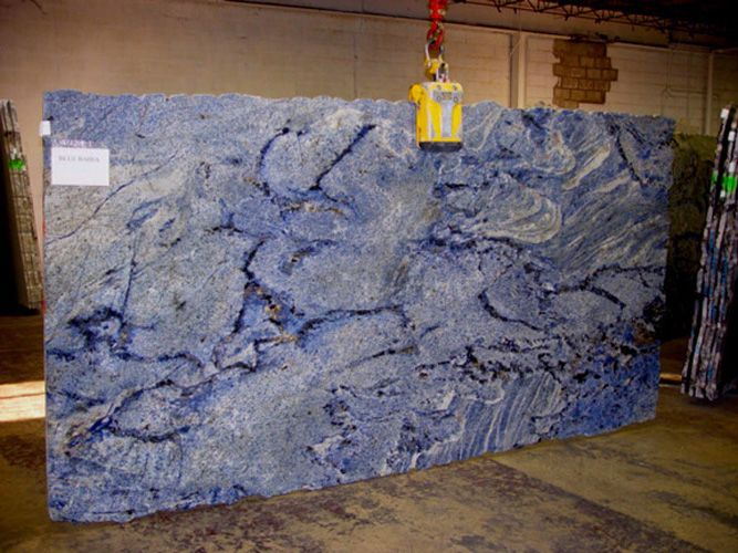 White And Blue Granite Countertops : ... GRANITE on Pinterest Granite slab prices, Caribbean and Countertops