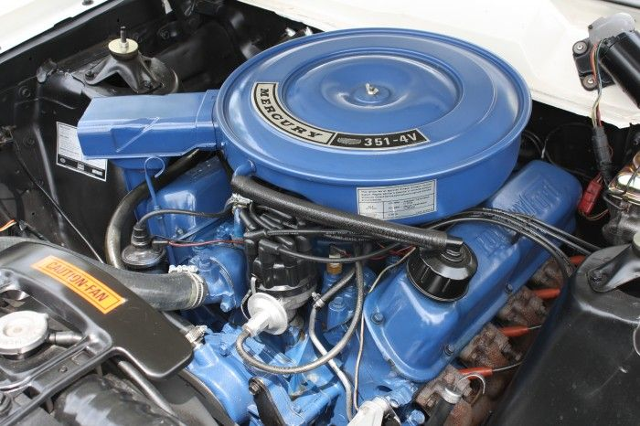 Ford 'Windsor' small block family 351-4V 290hp. Produced for 1969 only.