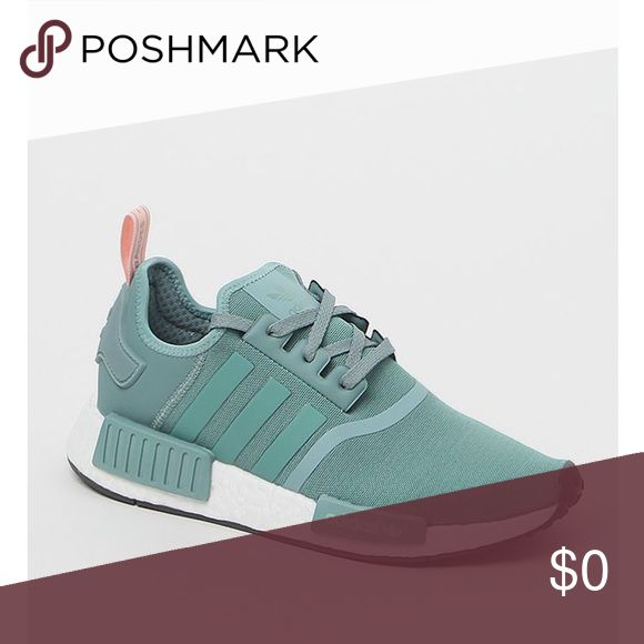 ISO: NOT FOR SALE adidas NMD r1 blue and pink size 5.5/5 Shoes Athletic Shoes