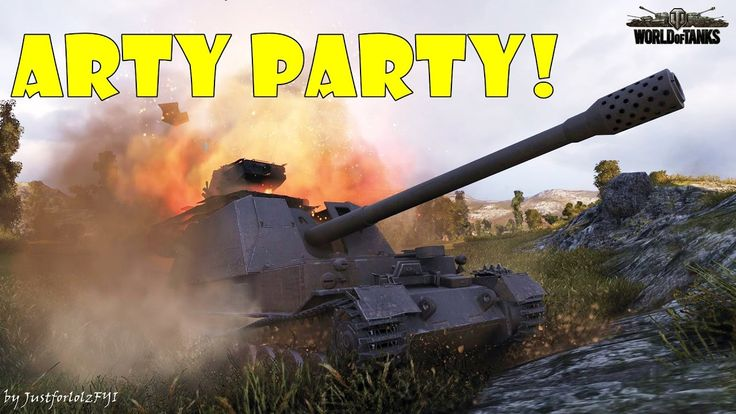 World of Tanks - Funny Moments | ARTY PARTY #12
