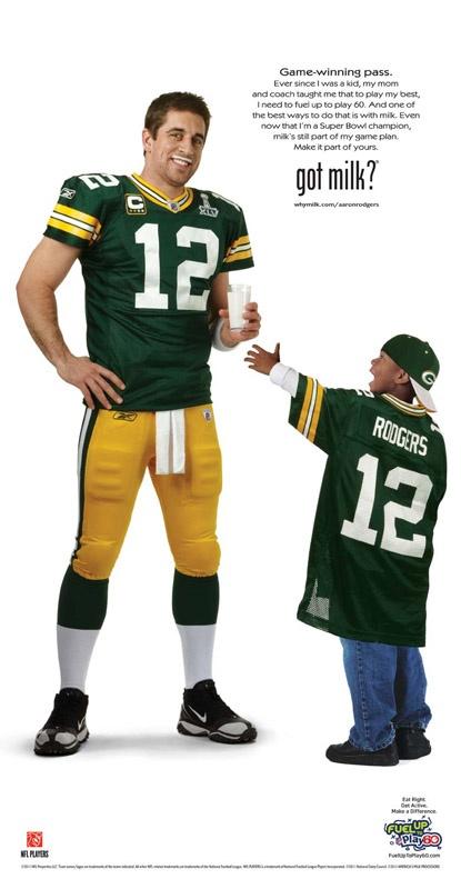 Super Bowl Winner Aaron Rodgers
