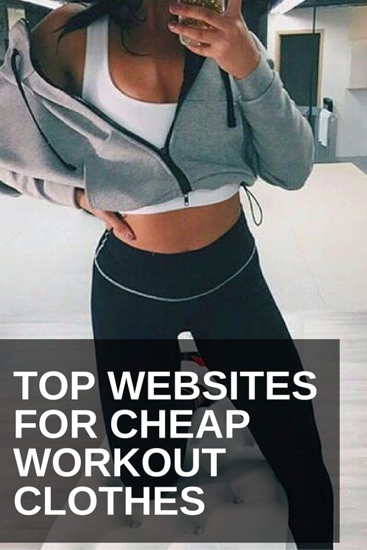 Discount workout clothes for women