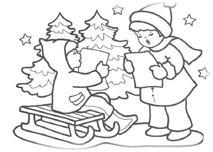 171 besten weihnachts ausmalbilder bilder auf pinterest - Weihnachts fensterbilder vorlagen ...