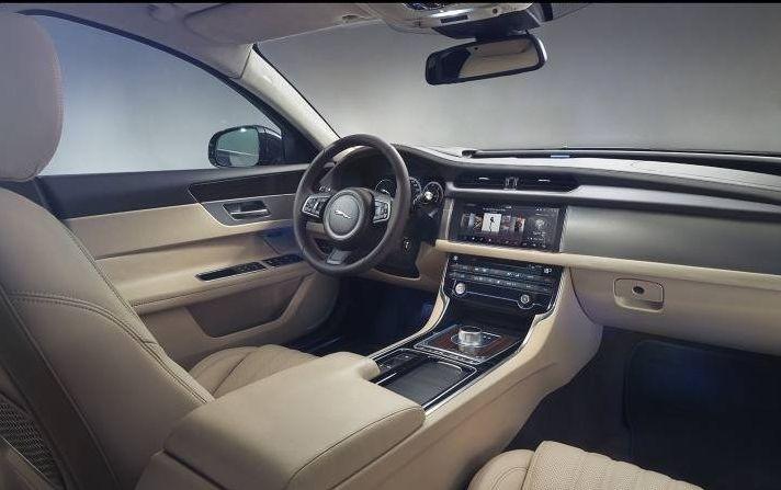 2017 Jaguar XF Interior Styling Design