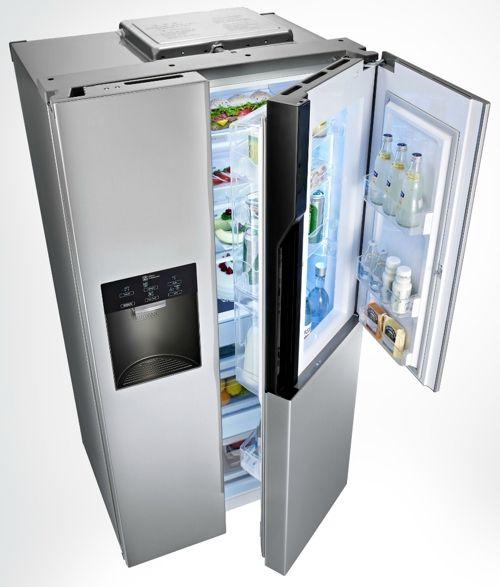 Les 25 meilleures id es concernant frigo americain sur for Refrigerateur but