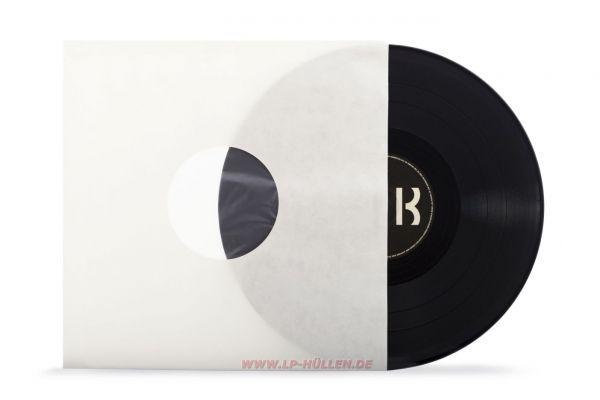 Schallplatten LP Innenhüllen,creme,Inner Sleeves,gefüttert, 70gr.