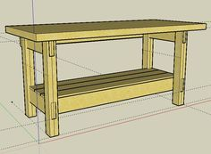 Workbench Plans Simple Workbench Plans Use this unproblematic workbench plan to build a sturdy b...