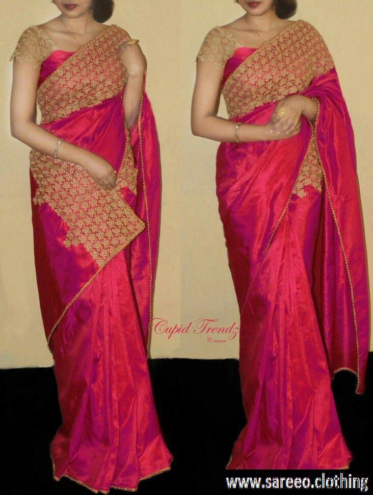 79d06e0943dc0a Netra Paper Pink Paper Silk Saree 2263-NetraPaperPink color Pink ...