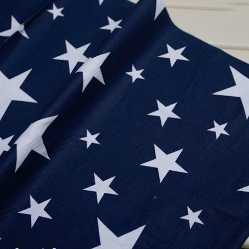 100% хлопок саржевые темно синий серии сказка звезды ткани DIY для детей домашнего декора стегальные куклы тильда шик ткани по метр купить на AliExpress