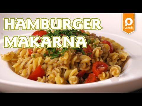 Tek Tencerede Hamburger Makarna Tarifi - Onedio Yemek - Pratik Yemek Tarifleri - YouTube