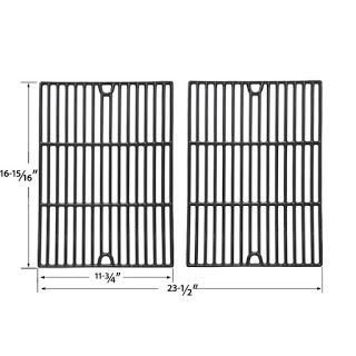 Grillpartszone- Grill Parts Store Canada - Get BBQ Parts, Grill Parts Canada: Grill Zone Cooking Grids | Replacement 2 Pack Glos...