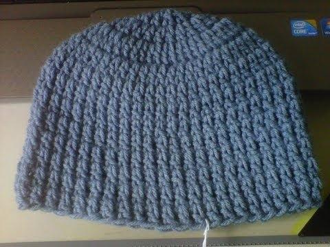 Easy Baby Beanie Crochet Pattern Double Crochet