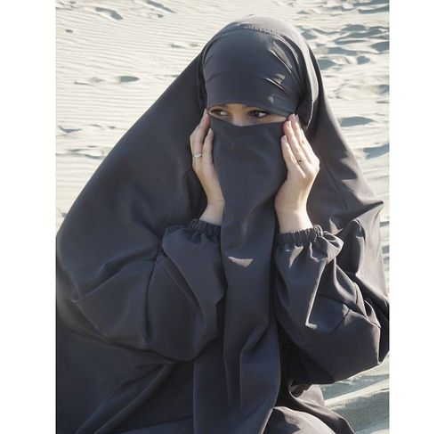 Image de musulmane, hijab, and natural