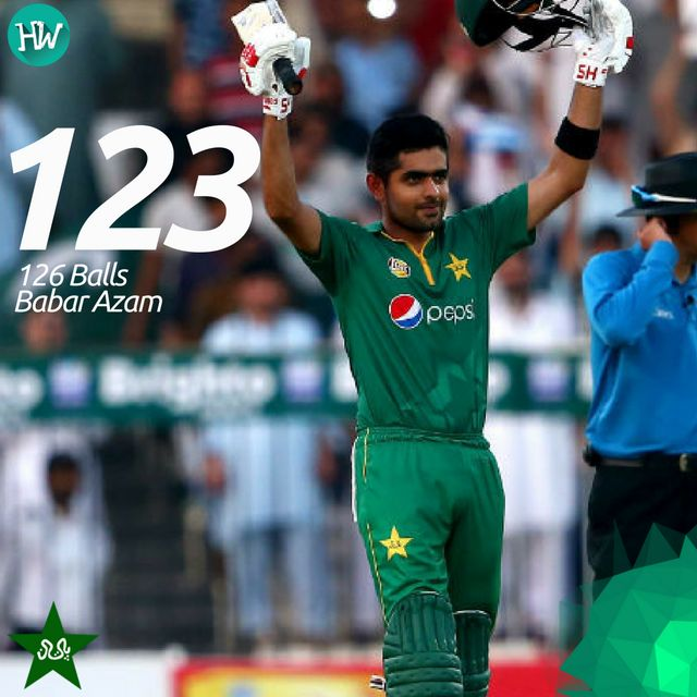 Another day, another century for Babar Azam. Two back-to-back tons for the young lad! #PAKvWI #PAK #WI #cricket