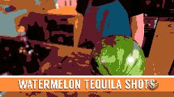 1 - Watermelon Tequila Shots