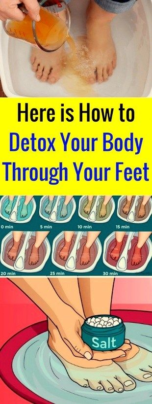 The ancient Chinese medicine practiced a detox method through the feet, based on the belief