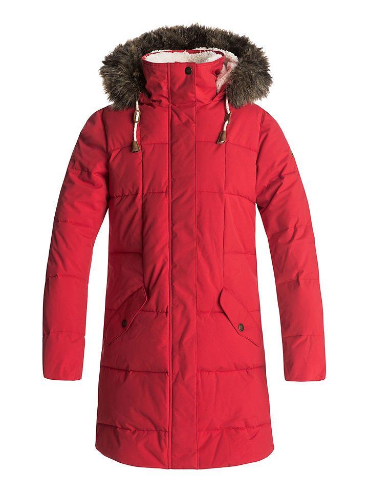 Roxy Wasserdichte, lang geschnittene Jacke mit Kapuze »Ellie 5K« Jetzt bestellen unter: https://mode.ladendirekt.de/damen/bekleidung/jacken/sonstige-jacken/?uid=6547b93e-68b7-51ff-8337-311c9e33df19&utm_source=pinterest&utm_medium=pin&utm_campaign=boards #outdoorjacken #sonstigejacken #bekleidung #jacken