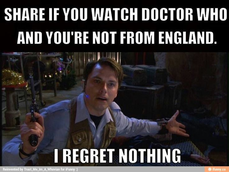 Actually, watching Doctor Who makes me wish I was from England :) ♥♥ I can't even cancel my cable subscription because I need my BBC America!!!! (To be fair, I also watch Sherlock, Top Gear, Broadchurch, and sometimes QI )now that it's back on).