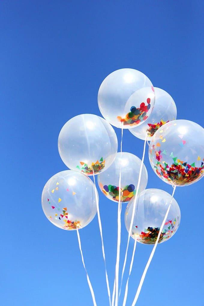 Фото воздушных шариков сердец