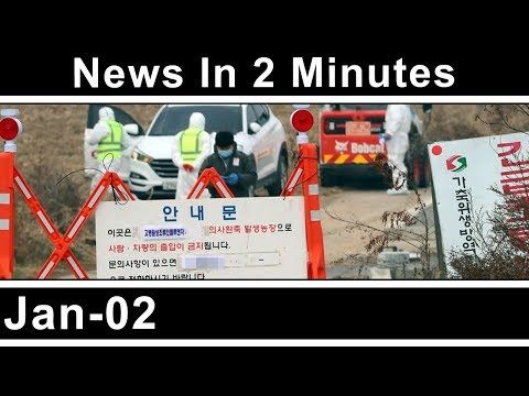 (13) News In Two Minutes - Bird flu outbreak - Russian chicken cull - Quarantine - Iranian Unrest - Riots - YouTube