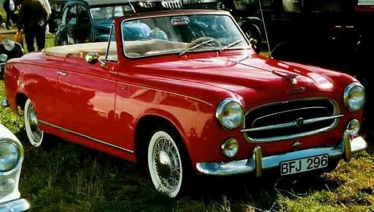 1958 Peugeot 403 Décapotable