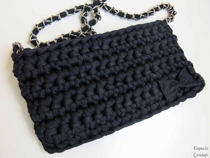 Espacio Crochet: Bolso de trapillo