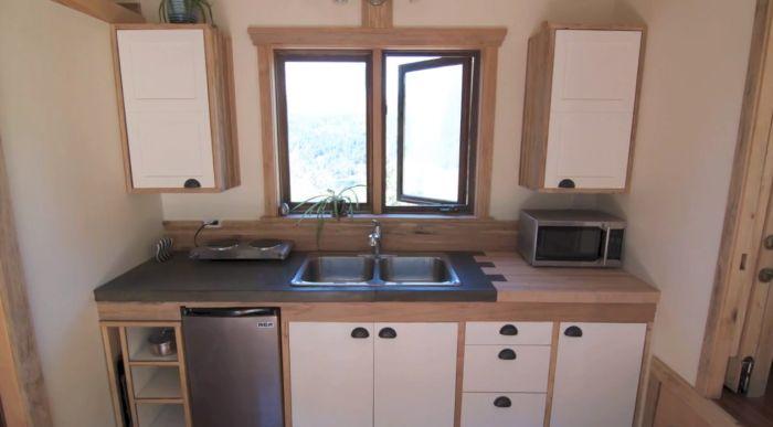 Kitchen - Nelson Tiny Houses V2 Tiny Tour
